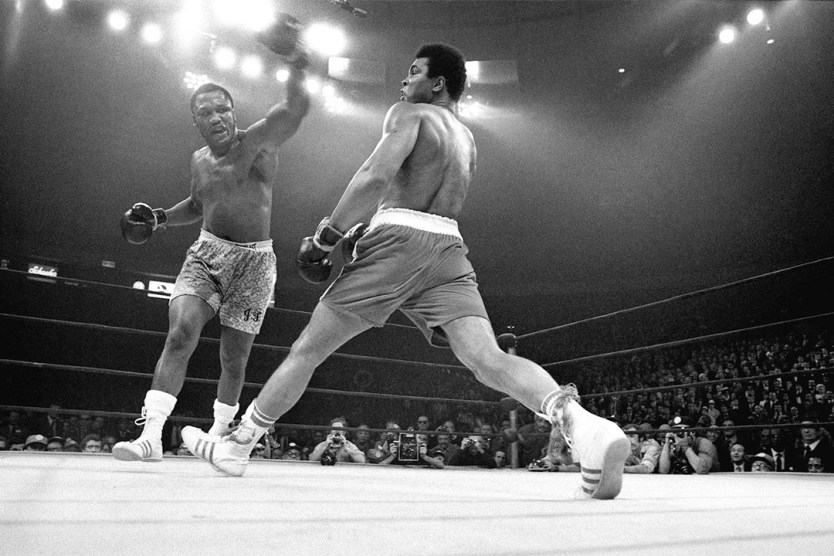 Ali vs Frazier Madison Square Gardens 1971