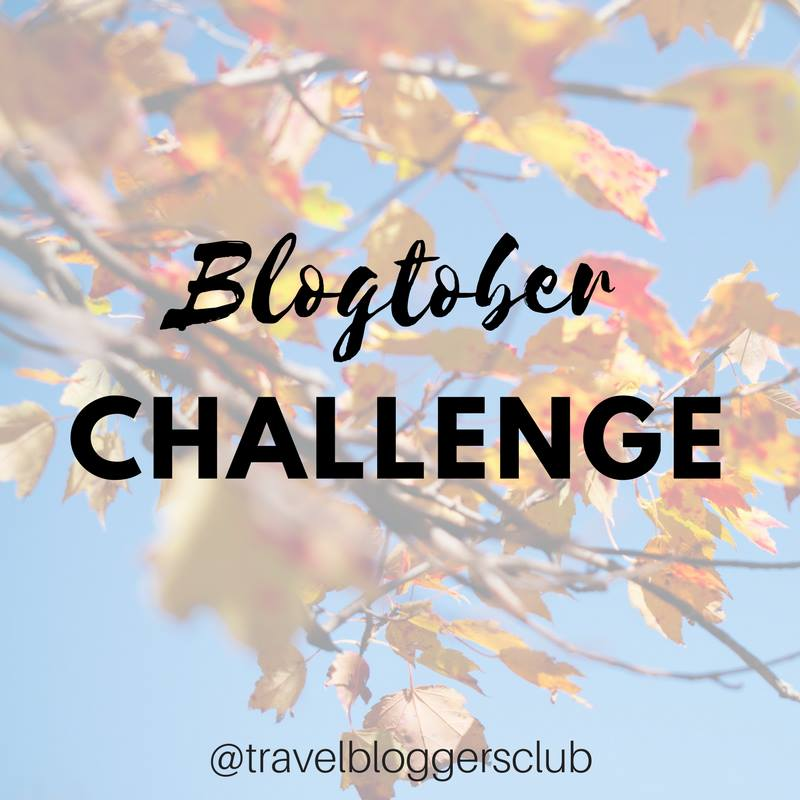 October blog writing challenge