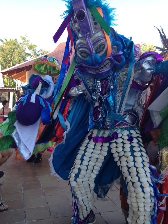 Carnival character in Dominican Republic