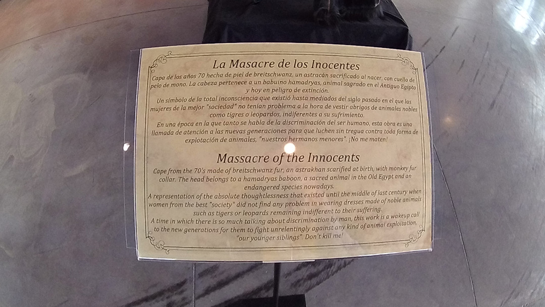 Massacre of the innocents info board