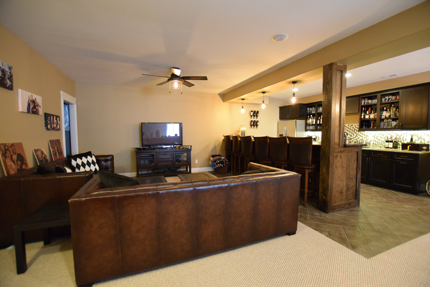Create A Personal Space With A Finished Basement