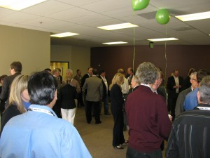 SNIA Technology Center Grand Opening Event - mingling before the show