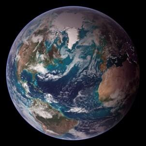 NASA Blue Marble 2007 West by NASA Goddard Photo (cc) (from flickr)
