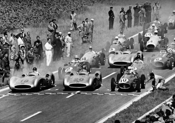 1954 French Grand Prix - Those Were The Days by Nigel Smuckatelli (cc) (from Flickr)