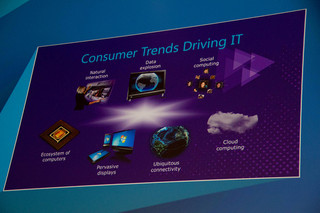 Microsoft TechEd Trends driving IT today
