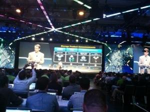 Pat Gelsinger, VMworld2013 Keynote, vSphere 5.5 storage changes