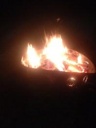 My first bonfire :D !