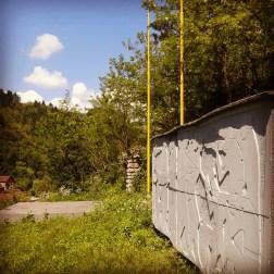 Spomenik in NOB-a Srebrenica