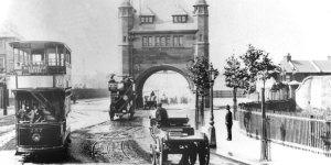 Blackwall Tunnel, Greenwich Peninsula, c. 1910