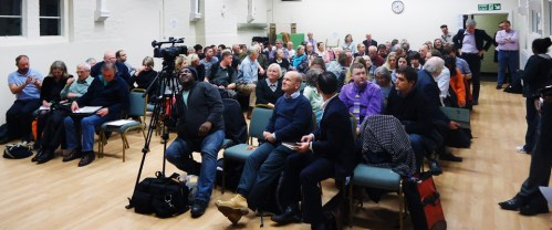 Tweets from No to Silvertown Tunnel's public meeting