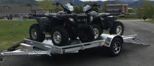 aluminum utility trailer sw12s