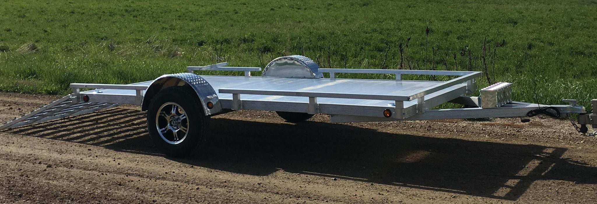 6'x12' Aluminum Utility – Silverwing Trailers