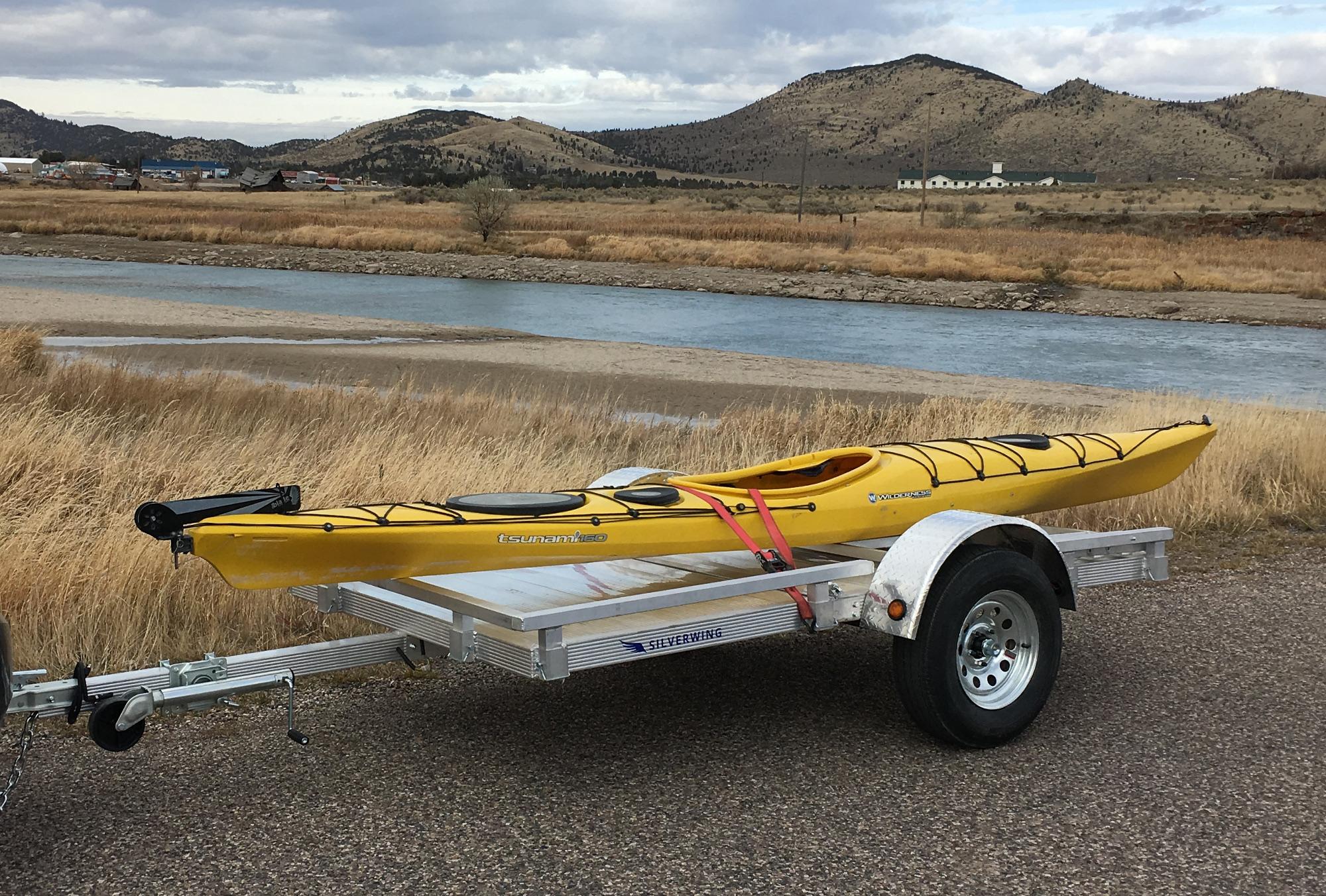 aluminum utility trailer 5x9 sw9f