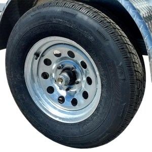 spare radial tire/wheel assembly