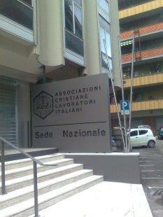 roma, associazioni cristiane lavoratori italiani