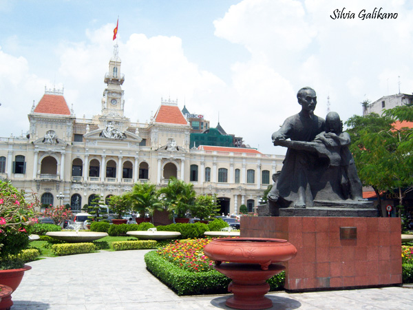 Balai Kota Saigon, Saigon City Hall, vietnam, ho chi minh city