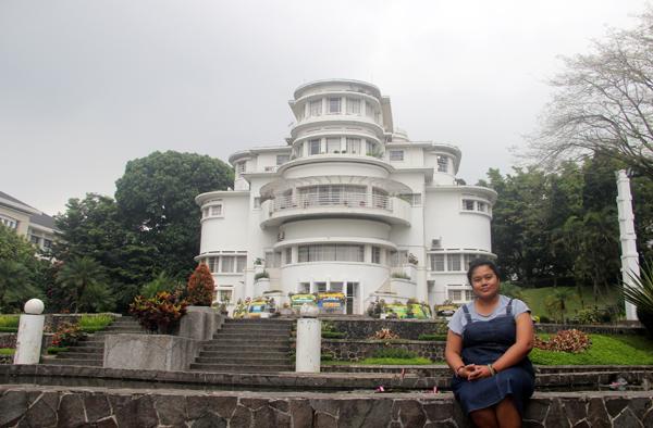 villa isola, bumi siliwangi, rektorat UPI