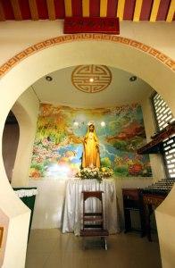 Gereja Santa Maria de Fatima, gereja toasebio