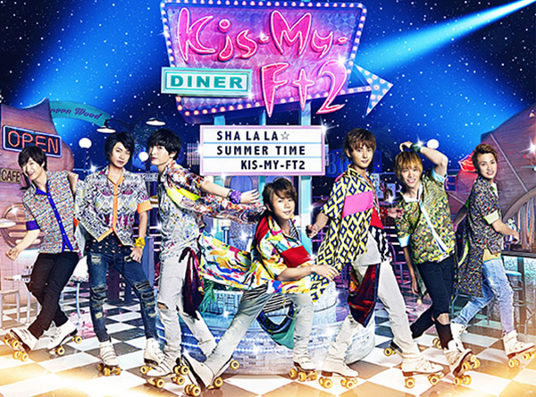 Verão inspira novo single de Kis-My-Ft2