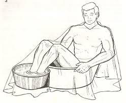 A semicupio bagno