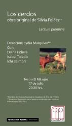 obra nueva de Silvia Peláez Direción Lydia Margules