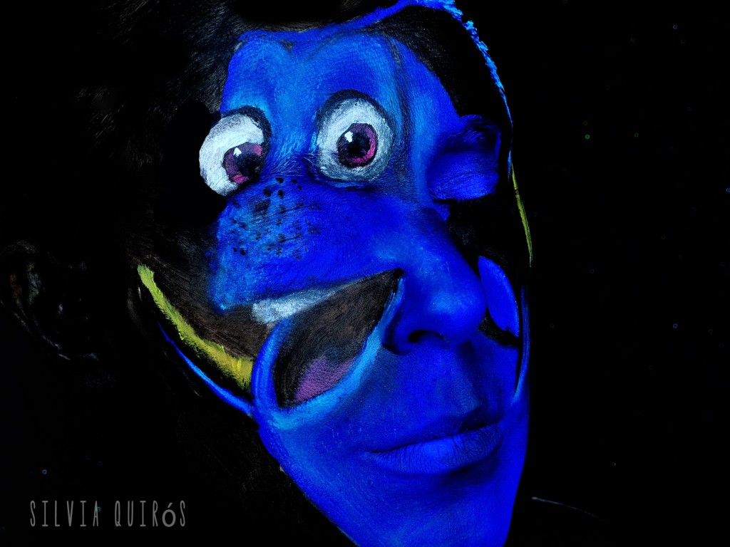 Dory From Finding Dory Makeup Tutorial Silvia Quir 243 S
