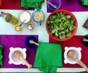 My pesto cooking class and the original recipe