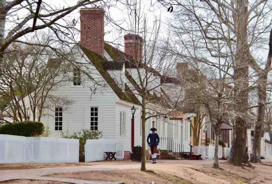 One day in Williamsburg, Virginia
