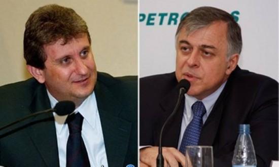 Os dois foram presos na Operação Lava Jato por suspeita de envolvimento no esquema de corrupção na Petrobra