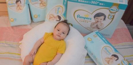 免費兌換尿布!幫寶適成長集點送-360度超透氣一級幫最推薦