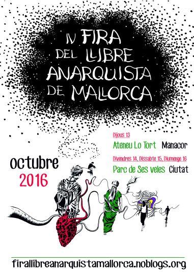 fira llibre anarquista Mallorca