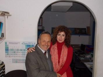 Con Mariano Arnal en la Fundación Aquamaris