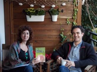 Con Ricardo Eiriz, autor de varios libros sobre cómo conseguir ser felices