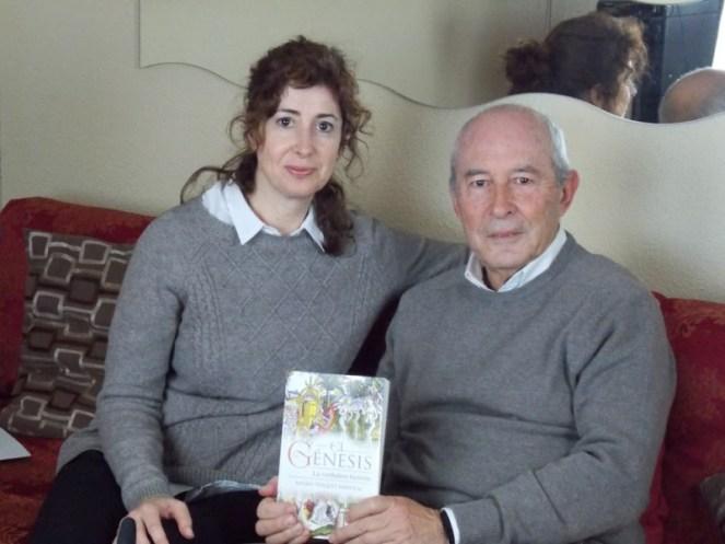 Con el autor del libro Génesis – La verdadera historia, Andrés Vázquez Mariscal