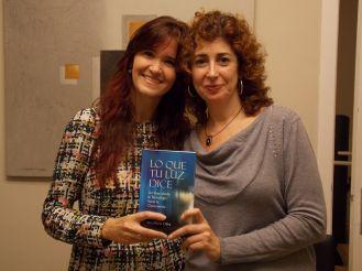 Dra Ana María Oliva – tras la entrevista para hablar de su libro Lo que tu luz dice