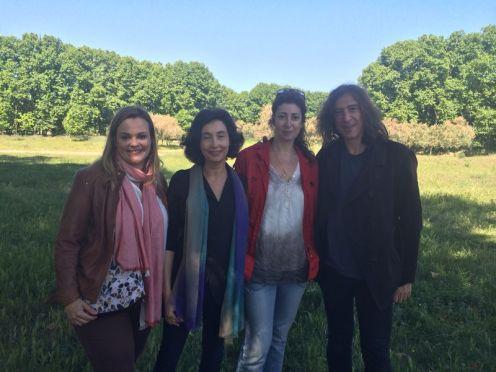 Tras rodaje spot con una buena amiga, Elsa Punset y Gerard Quintana