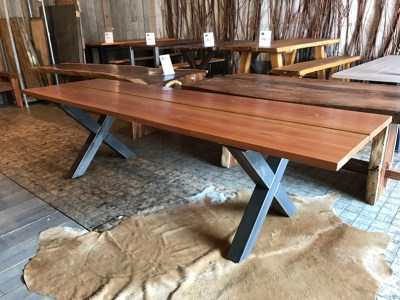 SW-157 tafel eettafel eetkamertafel douglas