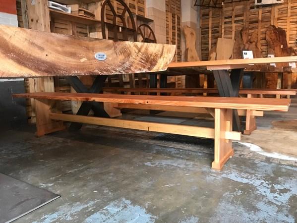 SW-160 houten bank douglas