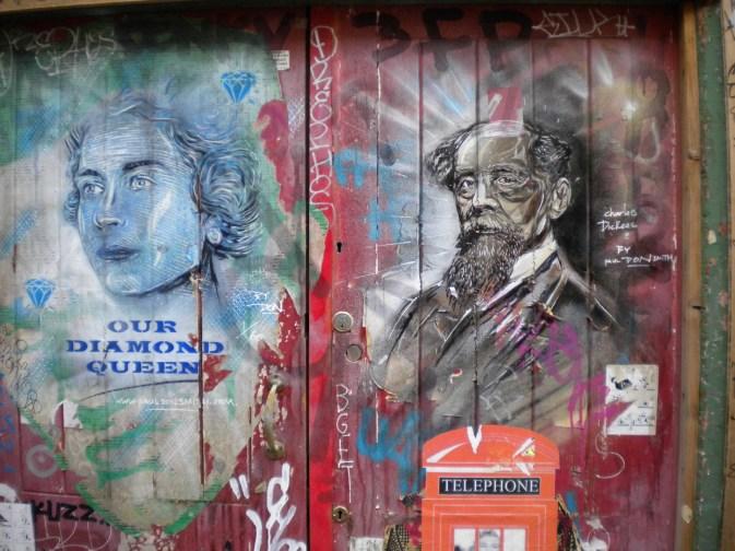 Street Art in London 2013, © Silvio Suter
