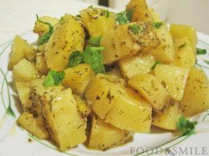 Печени картофи с подправки