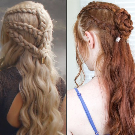 Daenerys Braids in Game of Thrones Season 6