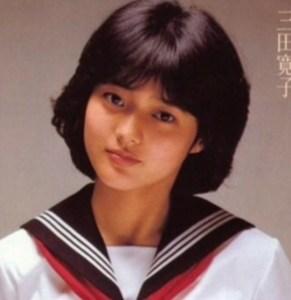 三田寛子 若い頃 可愛い
