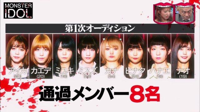 【モンスターアイドル】合格メンバーが可愛い!顔画像やプロフィールなど総まとめ!