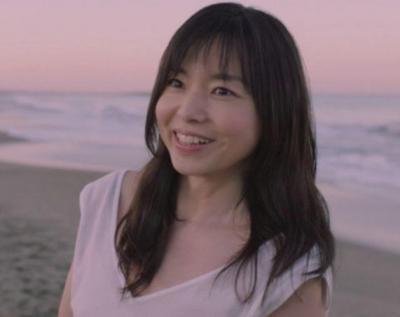 山口智子さんロングヘア画像
