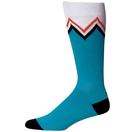 Indian Summer Knee High Turquoise