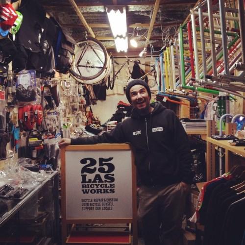 25LAS BICYCLE WORKS