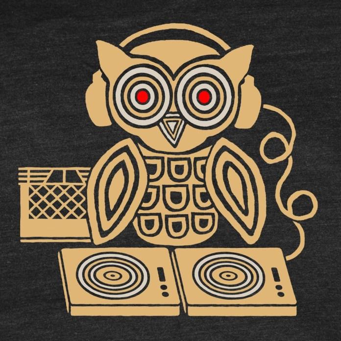 Headphones Owl