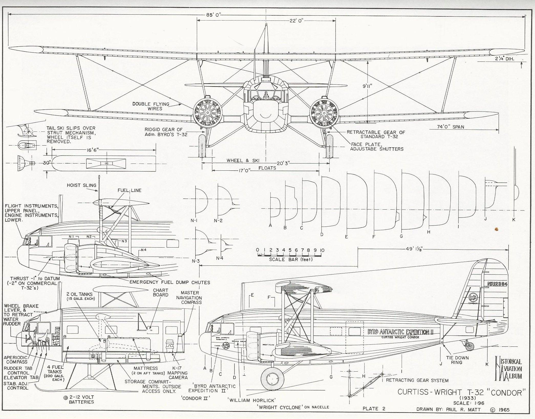 Curtiss Wright Condor Airlinerer Polar Explorer