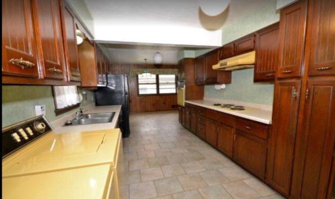 Sima Spaces Kitchen renovation, kitchen before photos, 1950's kitchen