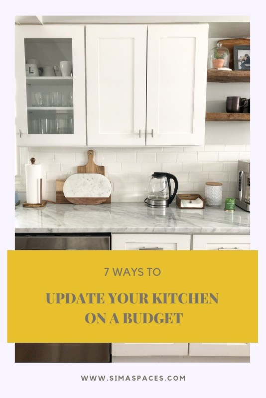Seven Ways To Update Your Kitchen On A Budget Sima Spaces,One Story 5 Bedroom Ranch House Plans